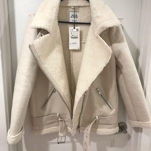 Zara Jackets & Coats - NWT ZARA AVIATOR JACKET